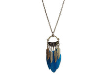Triad Feather Necklace