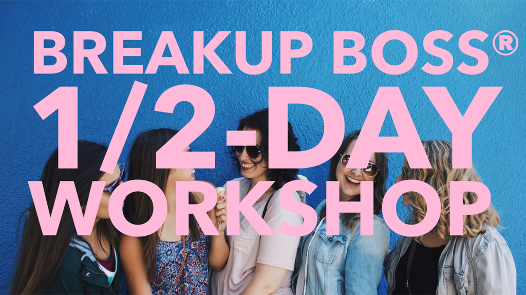 HBY launches 1/2 Day breakup recovery workshop to kick-off the international tour!!!