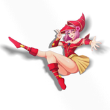 AOI APPLE MAGICIAN GIRL STICKER