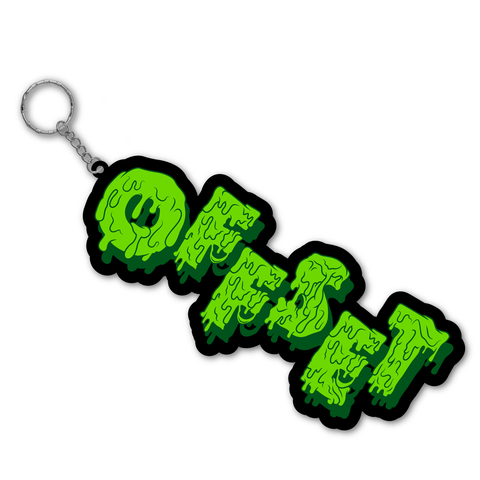 OFFSET SLIME RUBBER KEYCHAIN