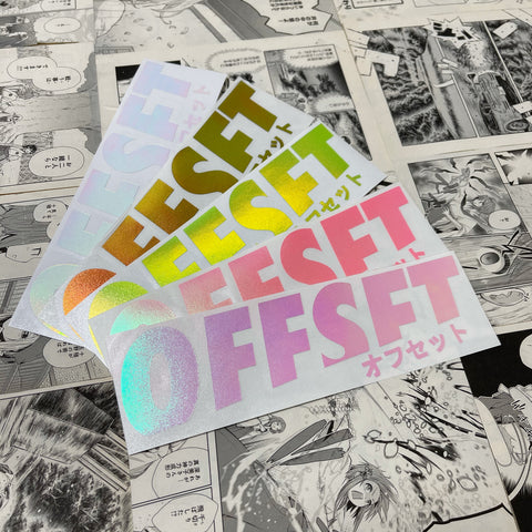 OFFSET LIMITED RELEASE DECALS
