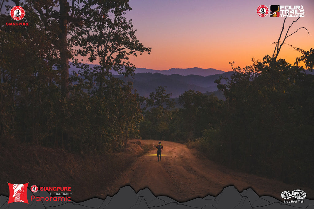 Ultra Trail Panoramic 2019 at dawn
