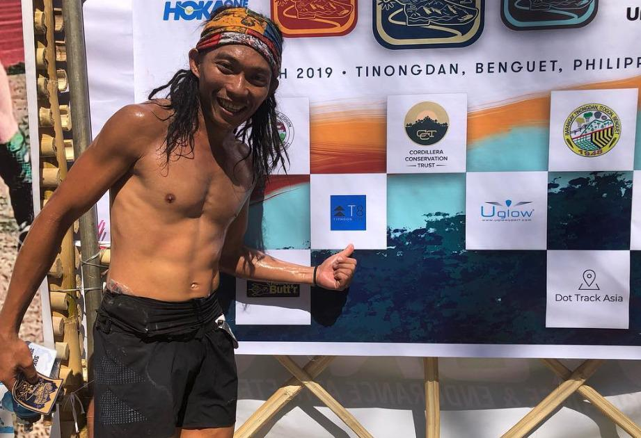 Koi Grey came third at Cordillera Mountain Ultra 2019