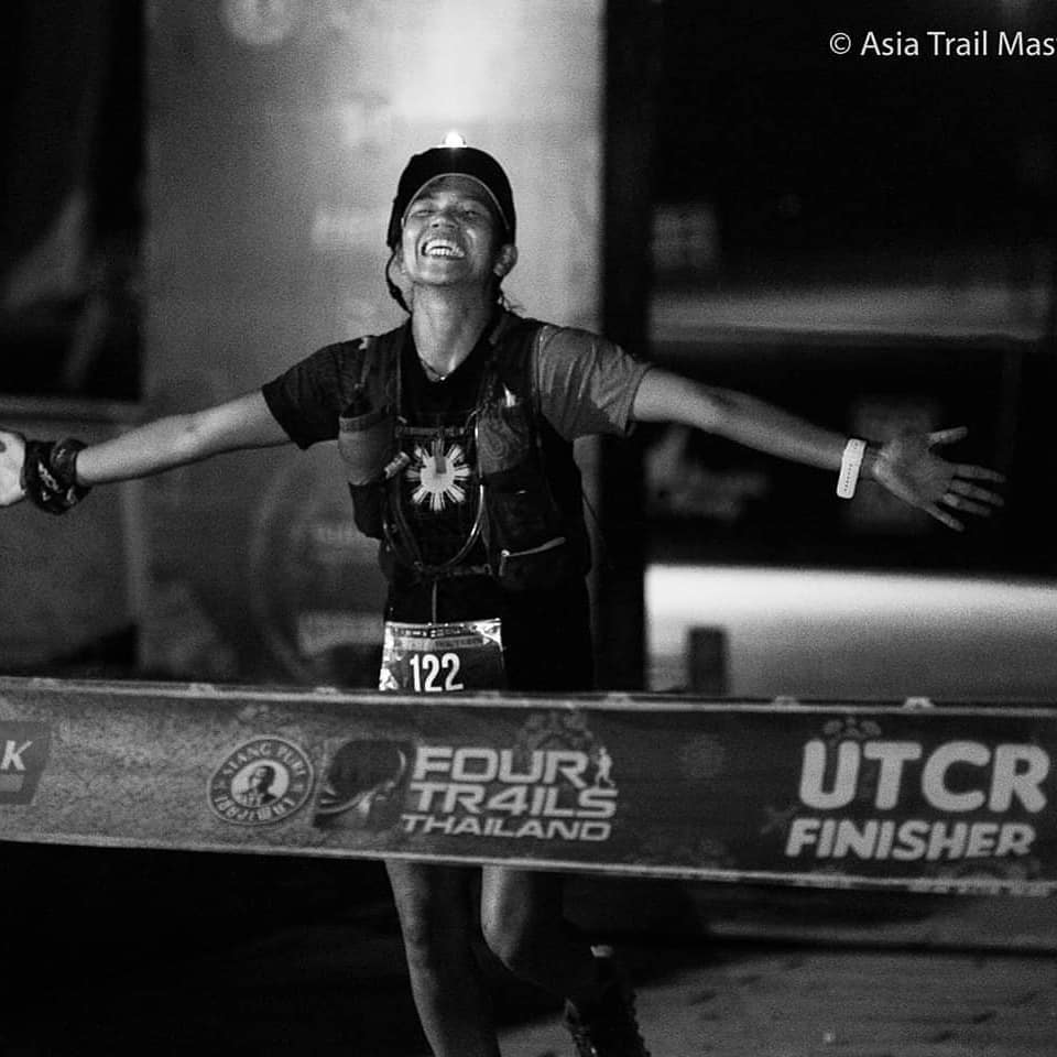 Fredelyn Alberto comes second at Ultra Trail Chiang Rai 125km in 2019