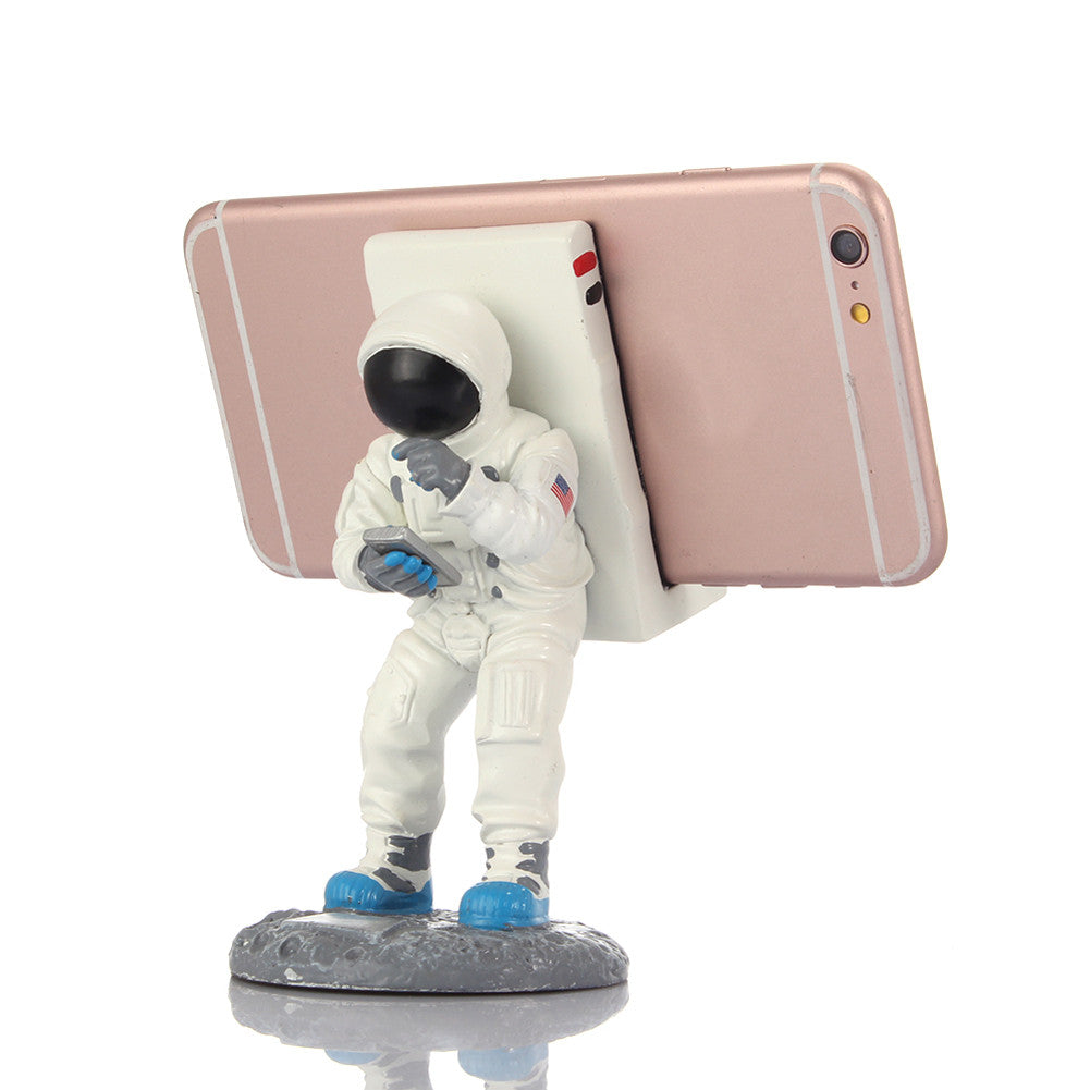 Super Cool Astronaut Phone Stand - Bright Colours