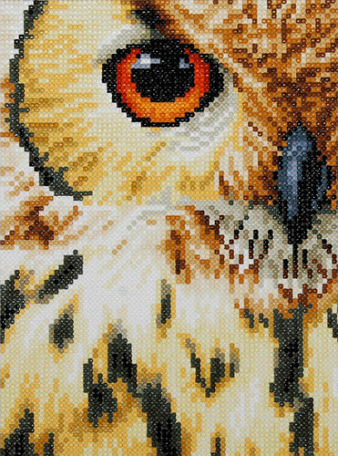 Vervaco Lanarte Diamond Painting Kit Owl
