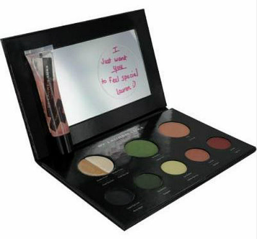 Lauren Luke My Luscious Greens Makeup Set