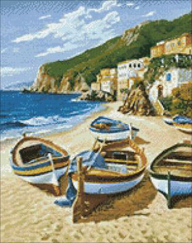RTO Diamond Painting Kit Fishing Boats