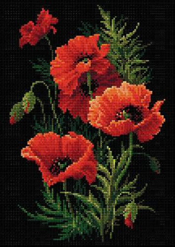 Riolis Diamond Painting Kit Poppies