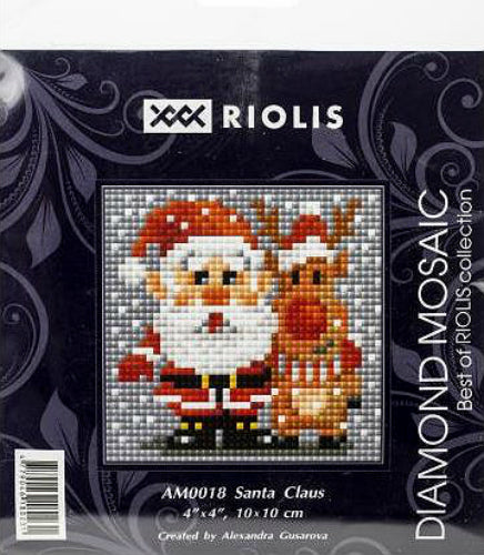 Riolis Diamond Painting Kit Santa Claus
