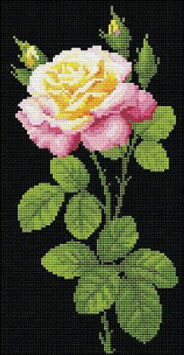 Riolis Diamond Painting Kit Wonderful Rose