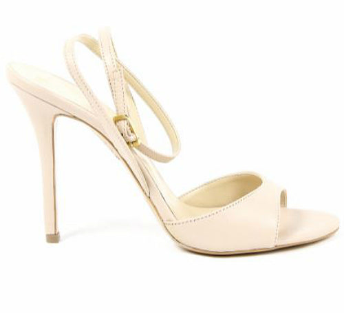 Versace Women's Alessandra Beige High Heels Sandals