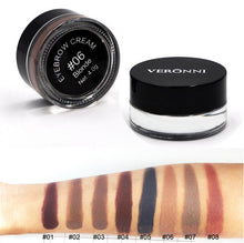 Veronni Eyebrow Pomade Cream Gel in 8 Shade options