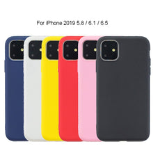 Cassby Rubber Silicone Flexible Apple Cell Phone Case for iPhone 11, 8 Color Options