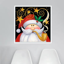 5D DIY Diamond Embroidery Santa with Pipe - craft kit