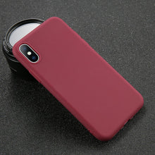 USLION iPhone UltraThin Solid Matte Cell Phone Fitted Case for Model 7 to 11, in 9 Color Options