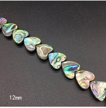 Natural Abalone Shell Beads in 8 Styles, 15in strand