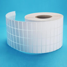 640 to 20000 Small Blank Craft White Label Stickers Roll