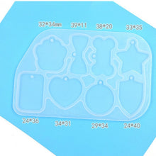 Assorted Pet ID Tag Silicone Mold Tray