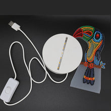 5D DIY Diamond Painting LED Desk Light Jellyfish or others - craft kit