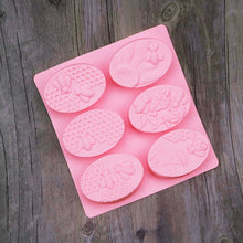 Oval Honey Bee Silicone Mold 6 different patterns