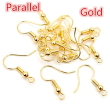 100pcs 20x17mm Earring Hooks for Jewelry Making
