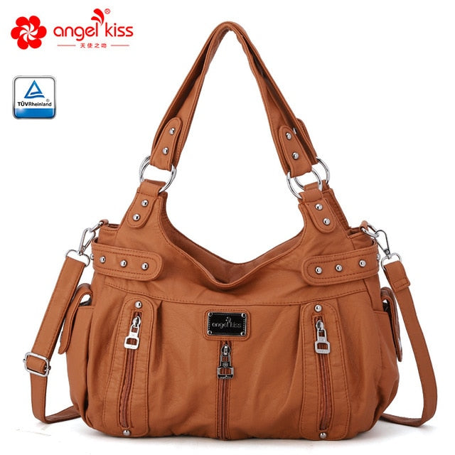 Women's Soft PU Leather Crossbody Shoulder Bag 6 color options