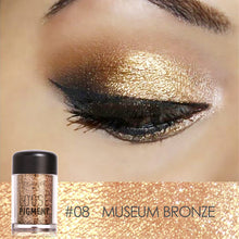 Focallure 18 Colors Individual Metallic Super Frosted Eye Shadow Powder