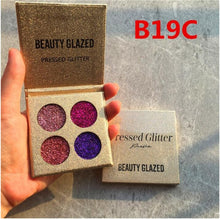 UCANBE Glitter Shimmer and Matte Eyeshadow Palette in 4 Options