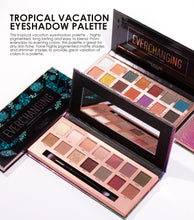 FOCALLURE 14 Color Eyeshadow Tropical Vacation or Everchanging Frost and Matte Palette