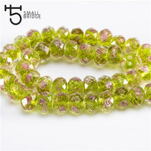 12mm Murano Transparent Glass Lampwork Flower Rondelle Faceted Beads, 17 color options