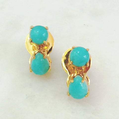 Amazonite Separates Earrings