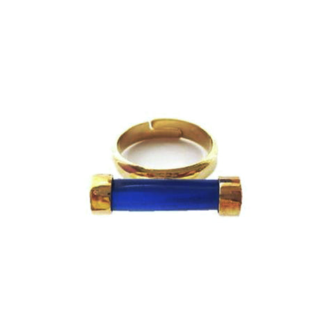 Cobalt Blue Roma Solo Ring