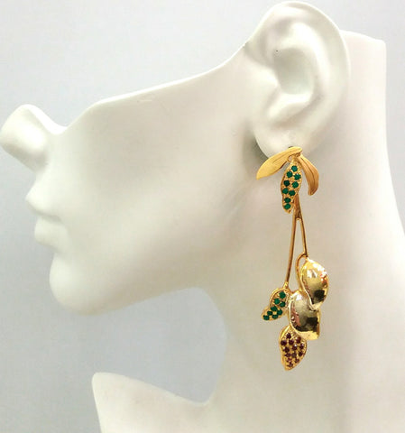 Mango Harvest Twinset Earrings