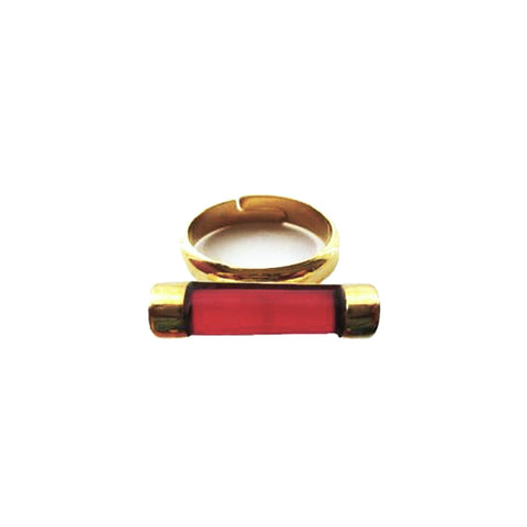 Red Rouge Roma Solo Ring