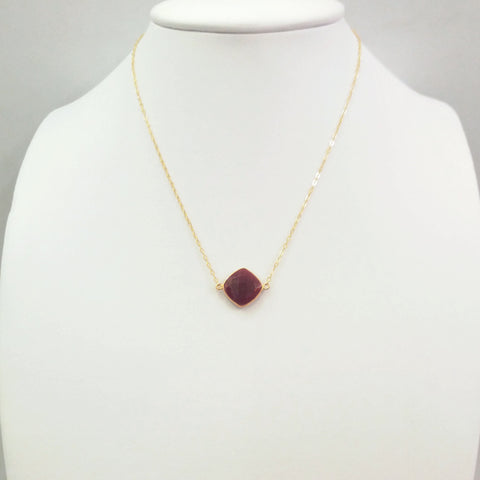 Ruby Single Pendant