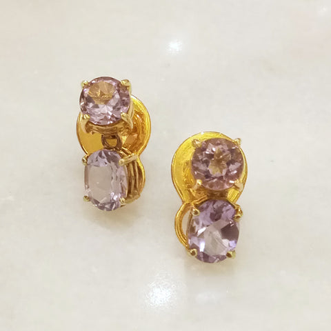 Amethyst Separates Earrings