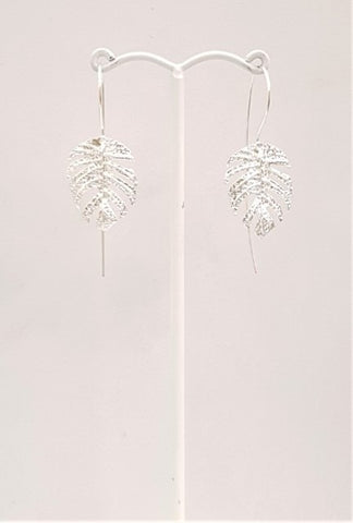 Anthurium Leaf Earrings