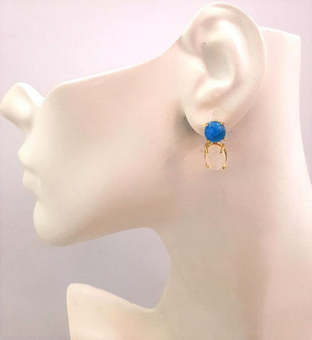 Apatite & Moonstone Separates Earrings
