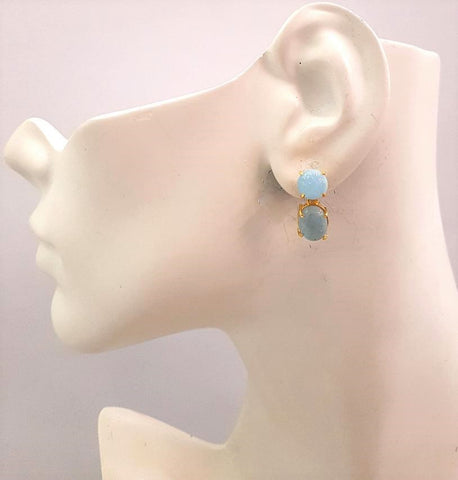 Aquamarine Separates Earrings