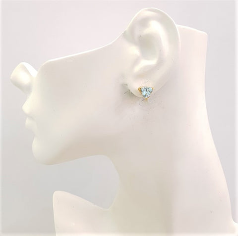 Blue Topaz Separates Earrings