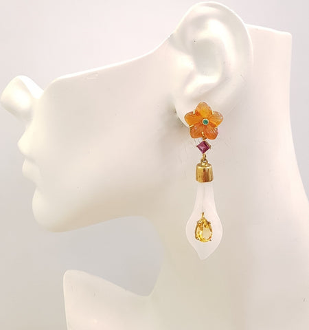 Calla 4 Twinset Earrings