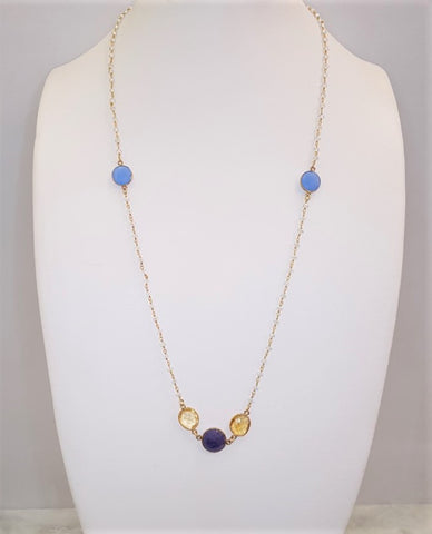 Marina station necklace