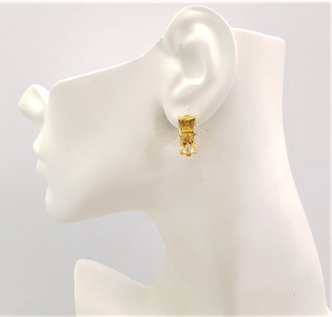 Citrine Separates Earrings