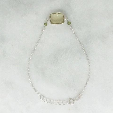 Lemon Quartz Single Bracelet