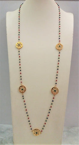 Calamansi 1 Station Necklace