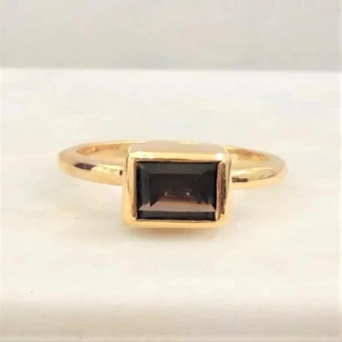 Smokey Quartz Maxi Ring