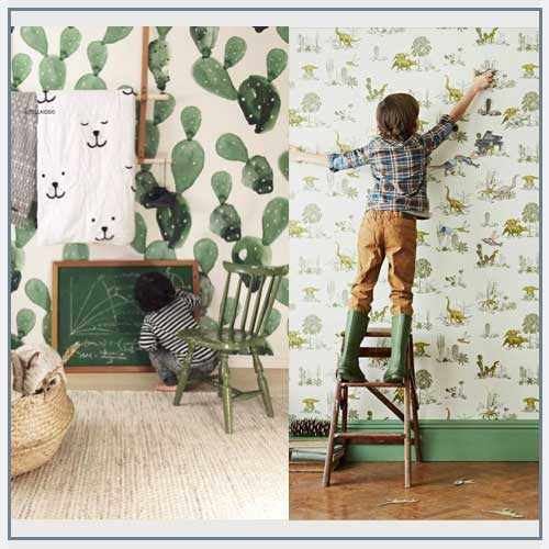 Using Green In Kids Rooms