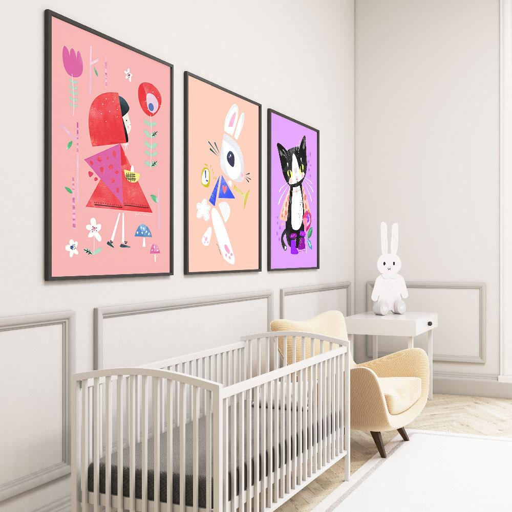 Bold And Vibrant Kids Wall Art