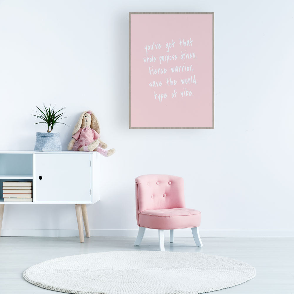 Quote Wall Art For Nursery & Kids Rooms